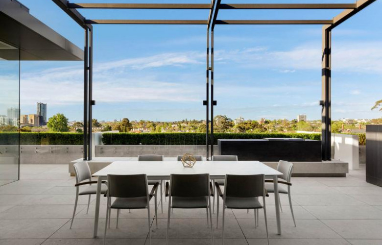South Yarra Architect Designed Penthouse For Sale The